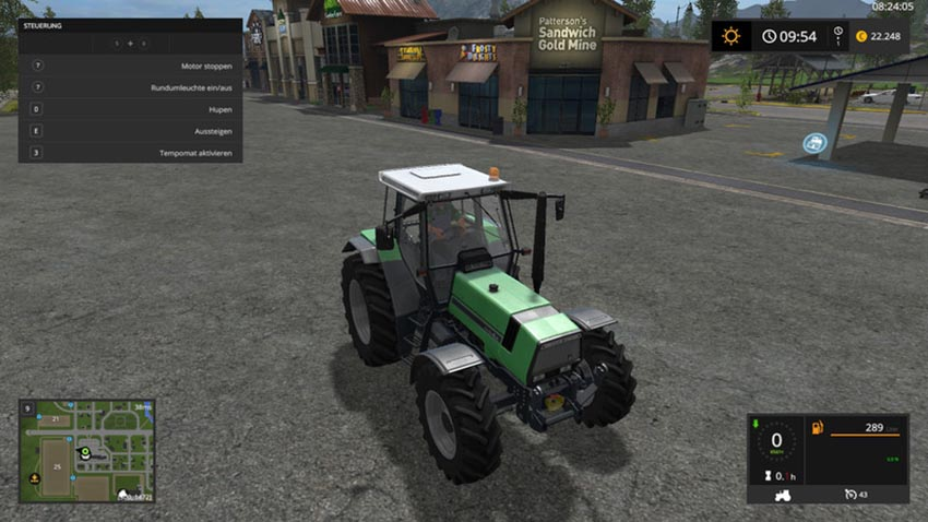 Deutz AgroStar661 with Rundumleuchte v 1.0