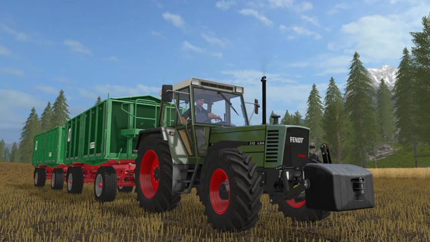 Fendt Farmer 310 312 LSA Turbomatik Pack v 1.0