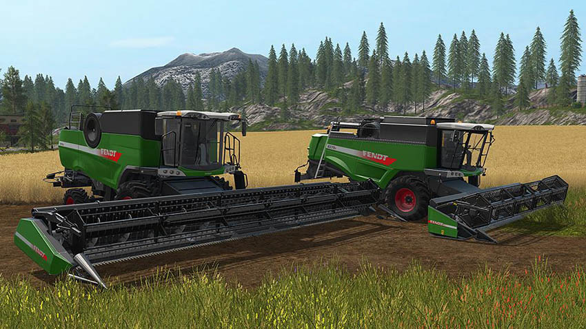 Fendt Harvester Pack v 1.0