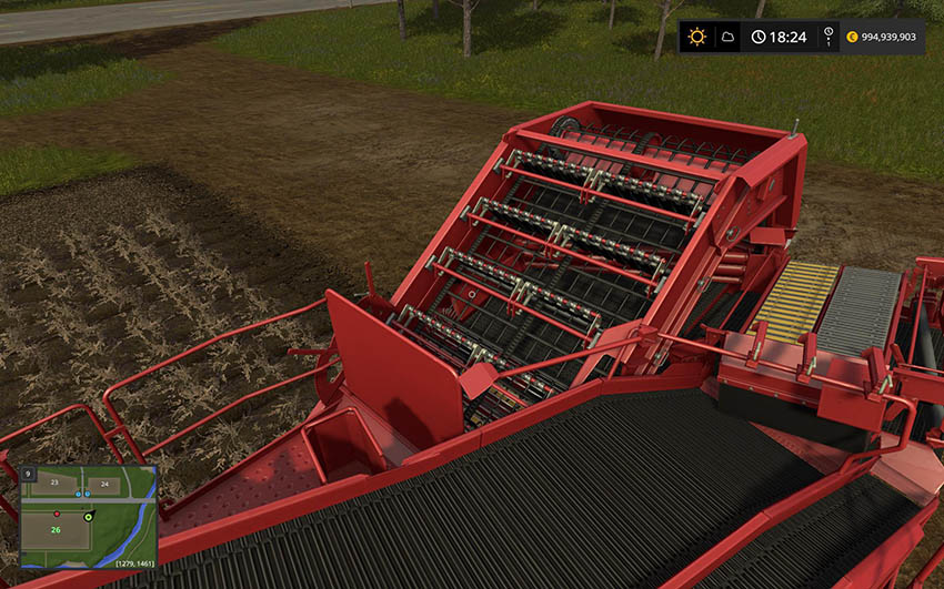 Grimme SE260 with Halum Separation v 1.0