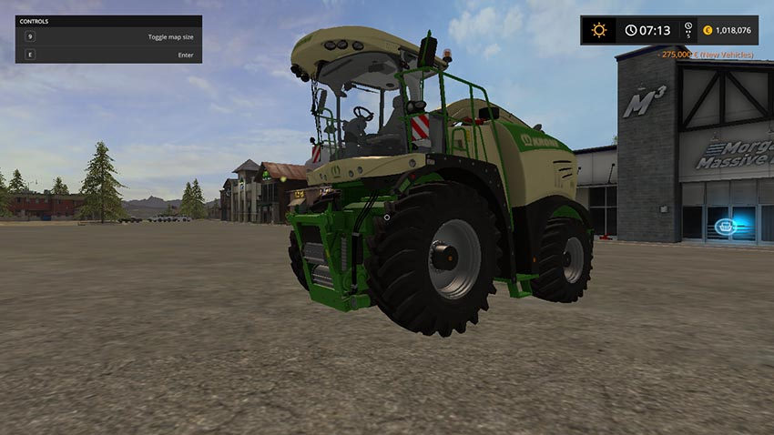 Krone Big X 580 with bunker v 1.0