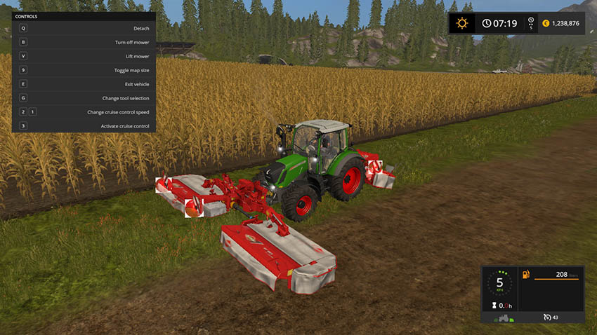 Kuhn FC313F And FC883 v 2.0