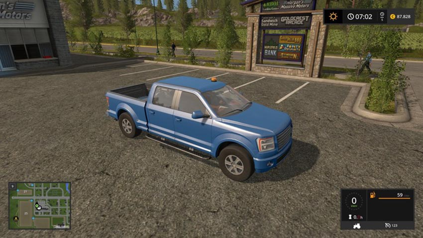 Lizard Pickup TT with RUL v 1.0