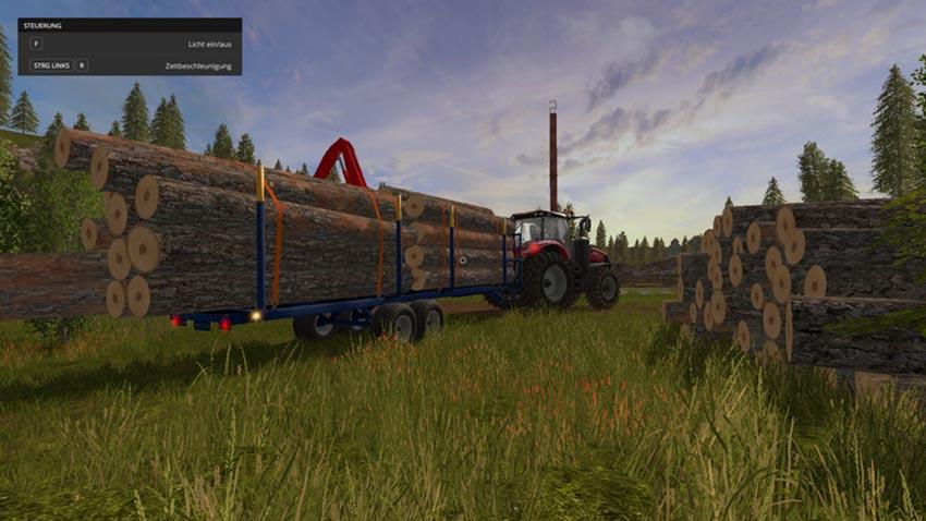 Log Trailer Customizable v 1.0.1