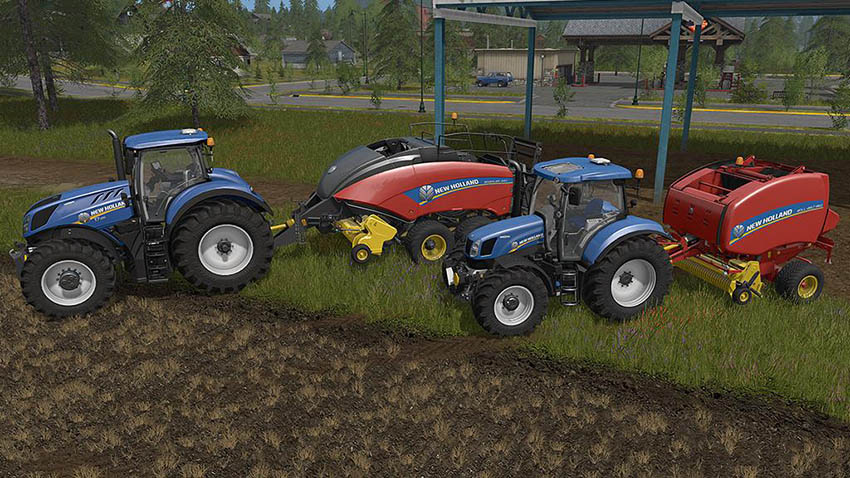 New Holland Baler Pack v 1.0