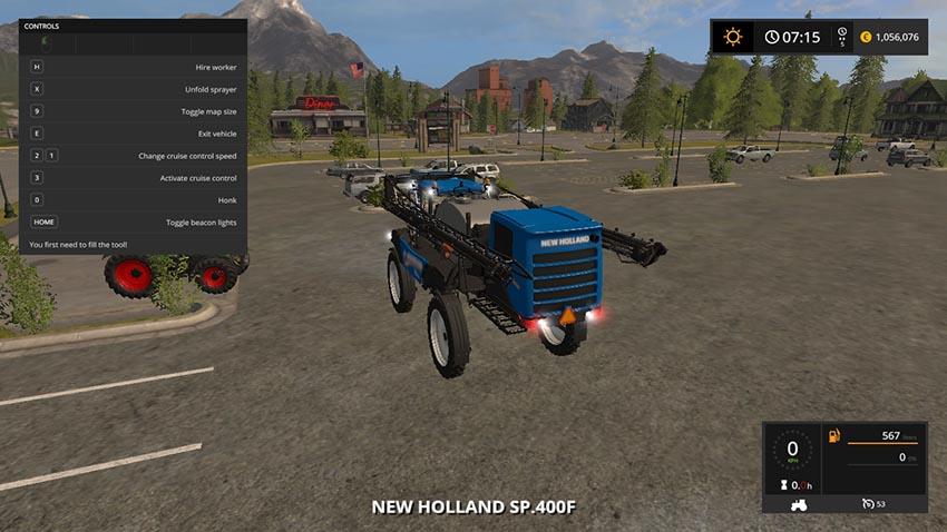 New Holland SP400F v 1.0