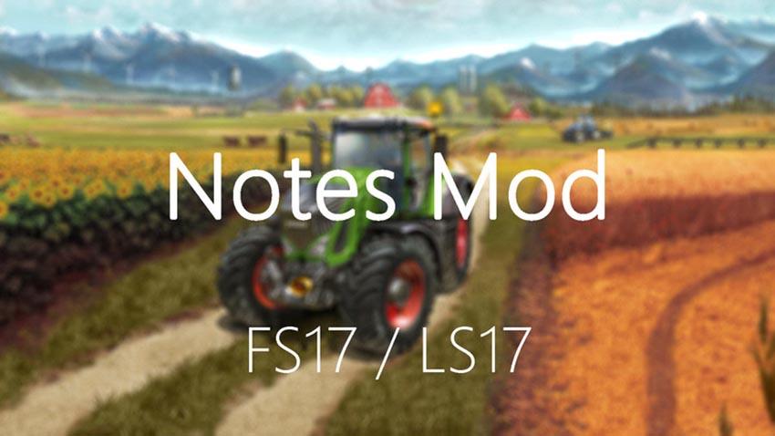Notes Mod v 2.1