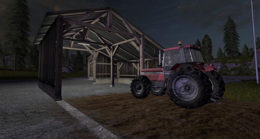 Old Shed With Light placeable v 1.0
