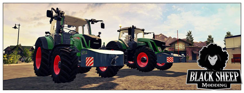 Pack 2 Front weight AGRI-WELD with Fuel v 1.0