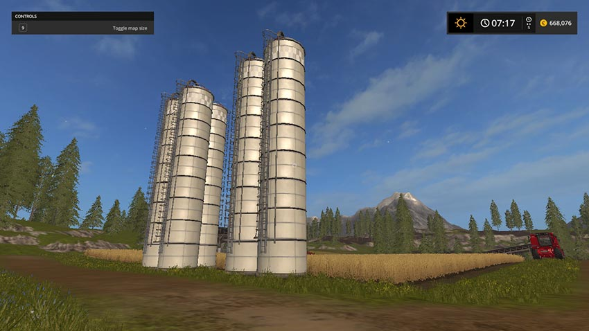 Placeable Silo Expand V 1.1