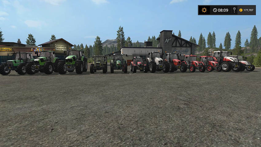 Tractor Pack