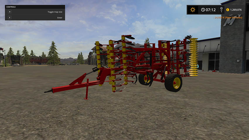 Vaederstand Top Down 500 Plow Conversion v 1.1