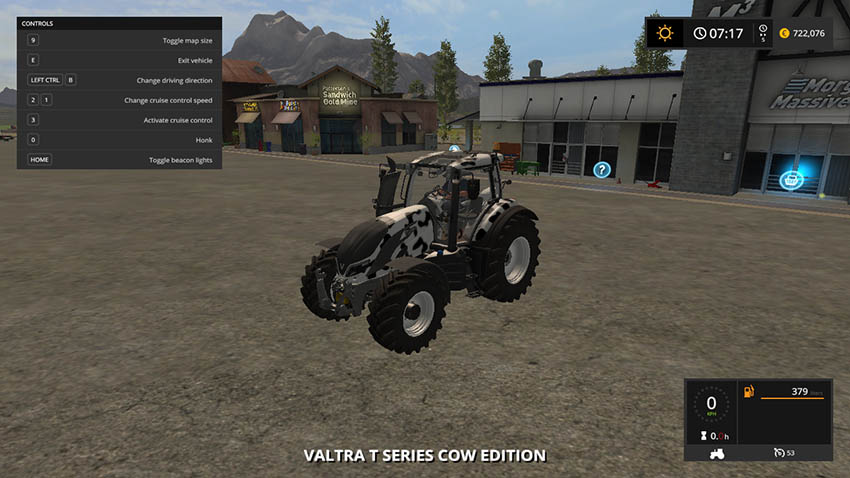 Valtra T Series Cow Edition v 1.0