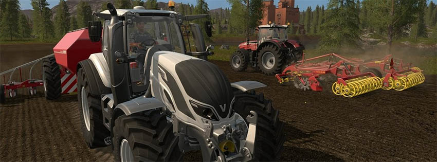 Farming Simulator 17 Head and Eye Tracking