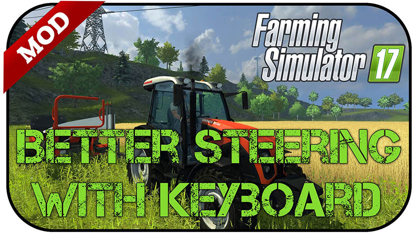 Better steering with keyboard v 1.0