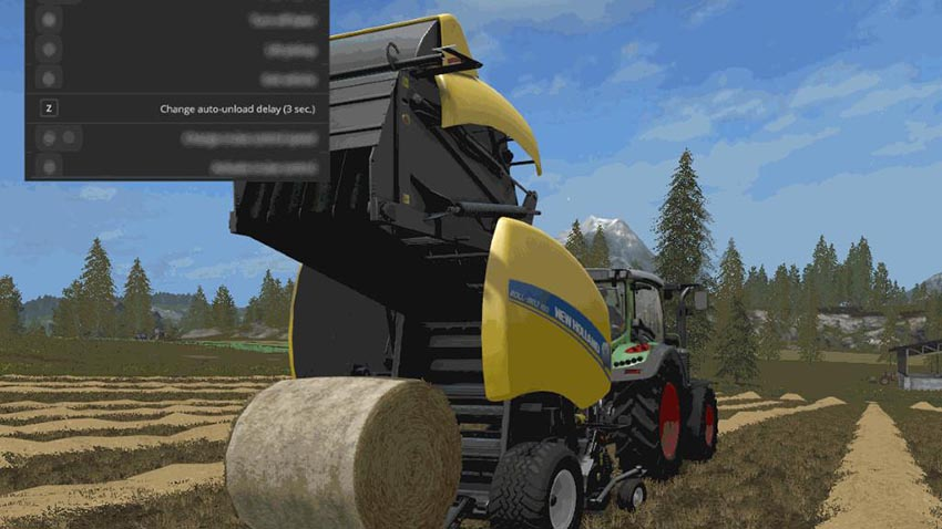 Automatic unload for round-balers v 1.0.2.21