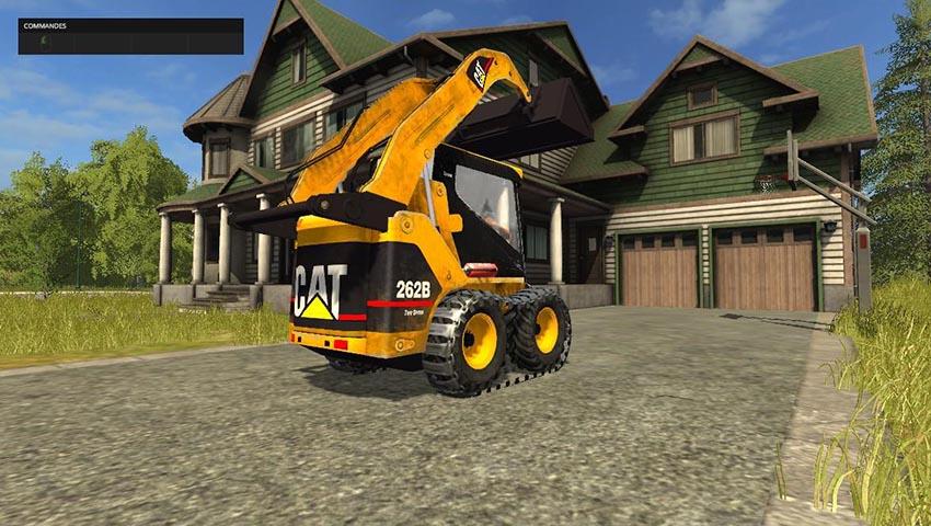 Caterpillar 262B Skid Sterr Pack v 1.0