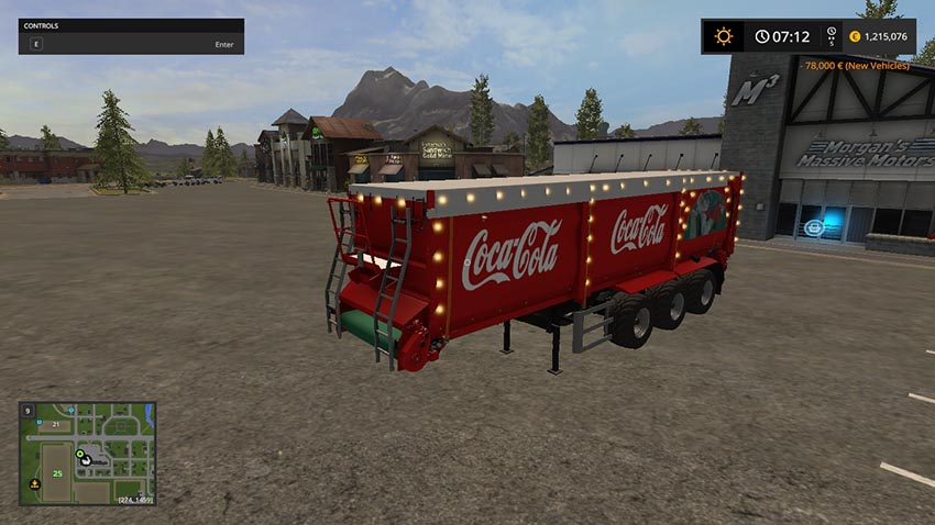 Christmas Cola Trailer V 1.0