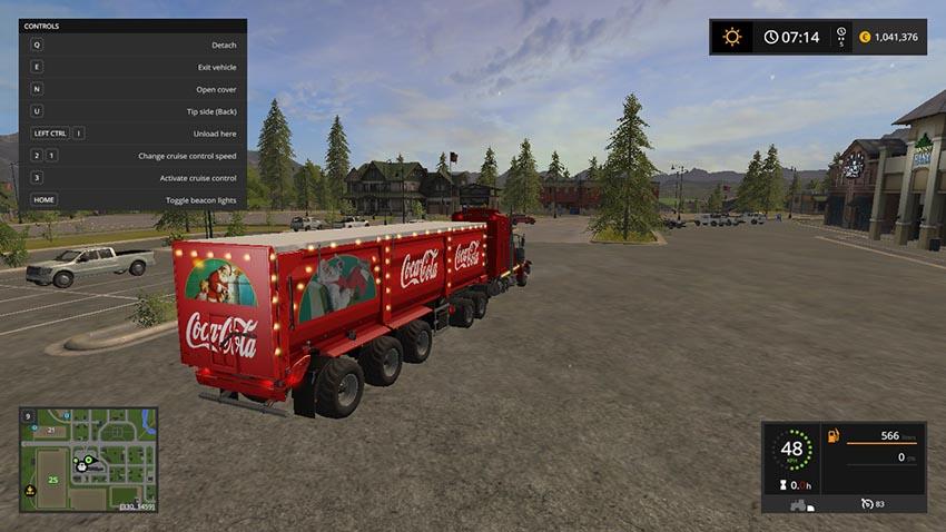 Christmas Cola Trailer V 1.0