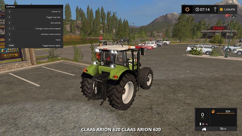 Claas Arion 620 V 1.0 BETA