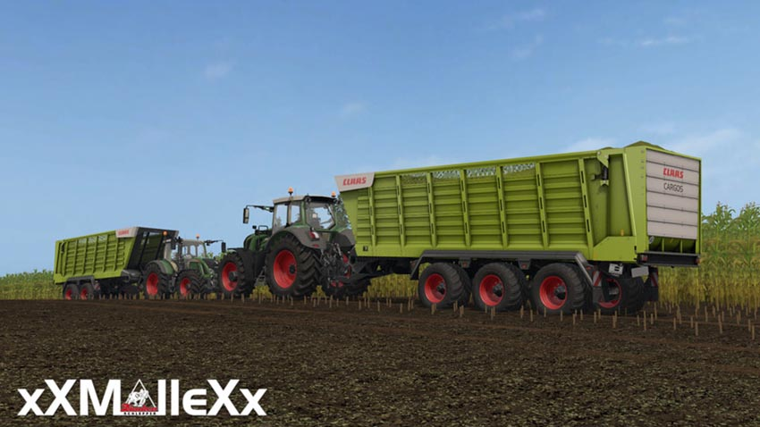 Claas Cargos 700 Pack V 1.0