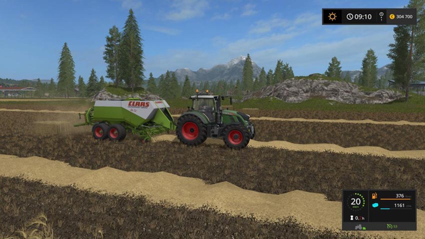Claas Quadrant 2200 RC V 0.9.1.7