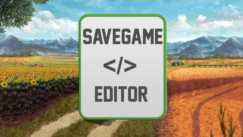Farming Simulator 17 Save Game Editor V 1.0