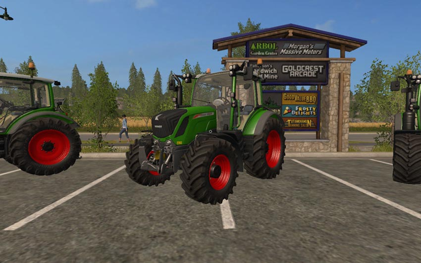 Fendt 300 Vario with beacon Lights V 1.0