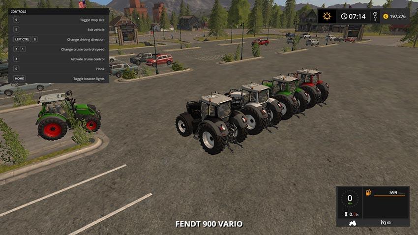 Fendt 900 Vario Pack V 1.0