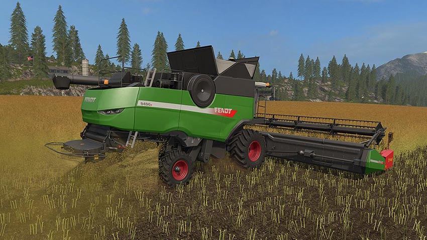 Fendt Harvester Pack v 1.0.0.1