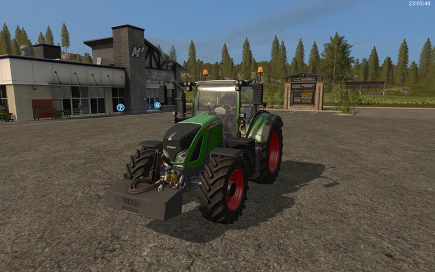 Fendt weight V 1.0
