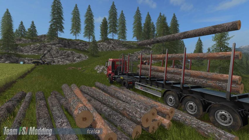 Fliegl Timber Runner with Auto Load Wood script V 1.0.0.17