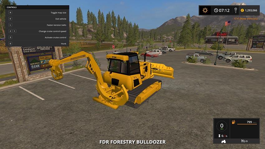 Forestry Bulldozer v 1.0