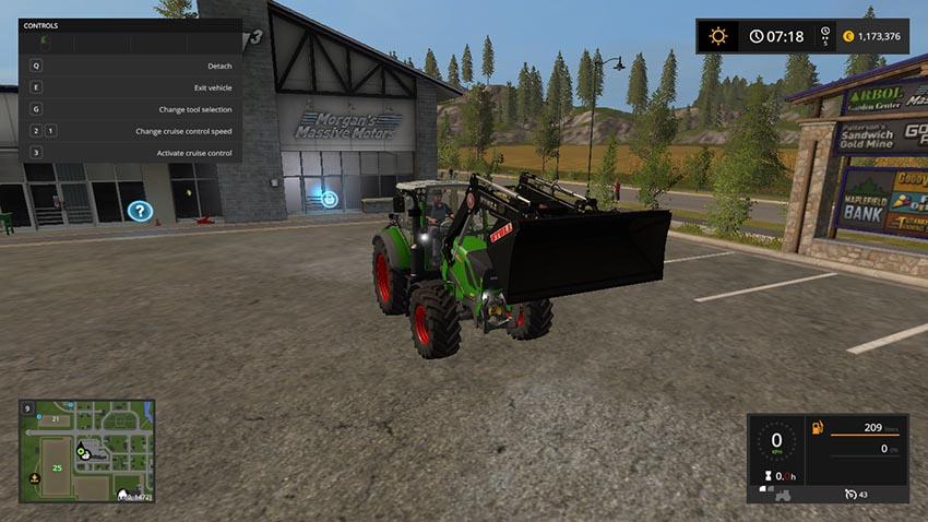 Front loader General purpose bucket 5k V 1.0