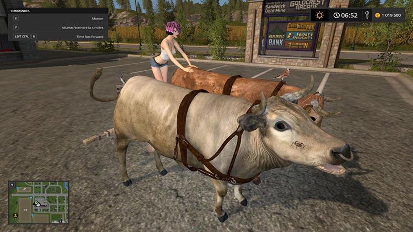 Hard Working oxen v 1.0