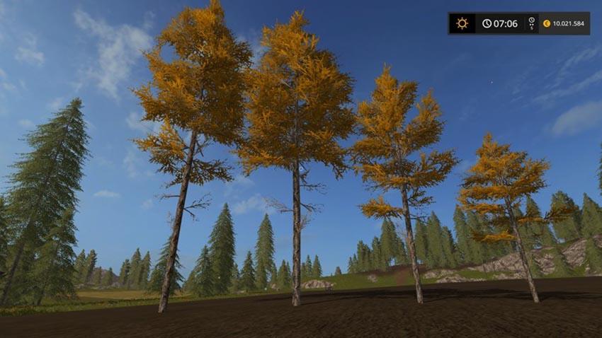 Harvester larches V 1.0