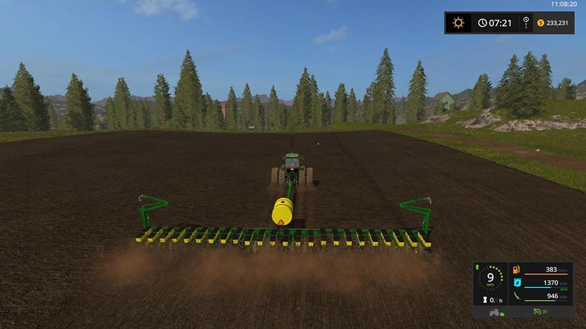 John Deere 7200 24 Row Planter v 1.0