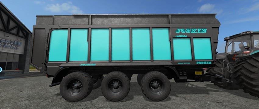 Joskin Drakkar 8600 Blue Black Edition V 1.0