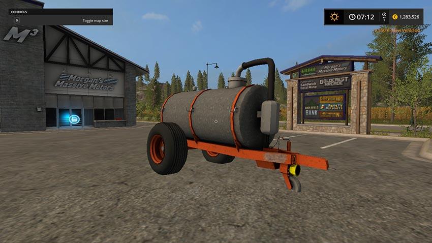 Kaweco 6000l Manure-Barrel v 1.0