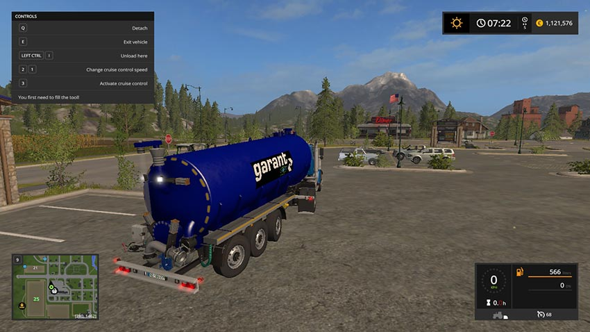 Kotte Garant Pro Venti trailer for pig feed V 1.1