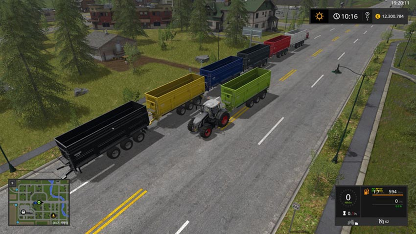 Krampe Big Body 900 atacher v 1.1.1.1