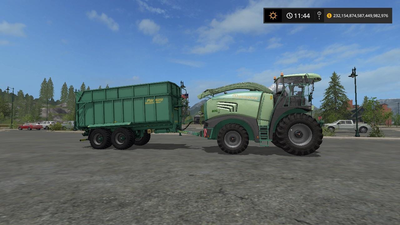 Krone Big X 480 and fortuna FTM200 6 0 v 1.2