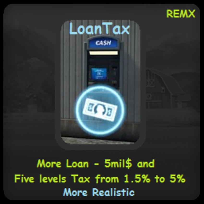 Loan Tax V 1.1