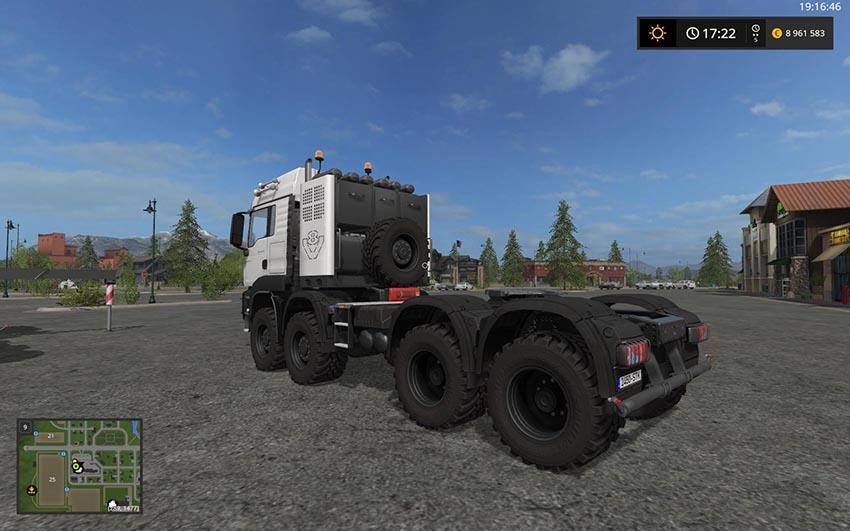 MAN TGS 4157 8x8 v 2.0