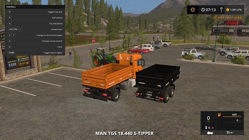 MAN TGS 18.440 Tipper Pack