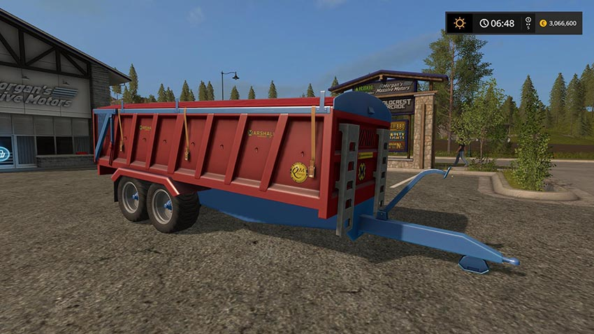 Marshall trailer modded v 1.0