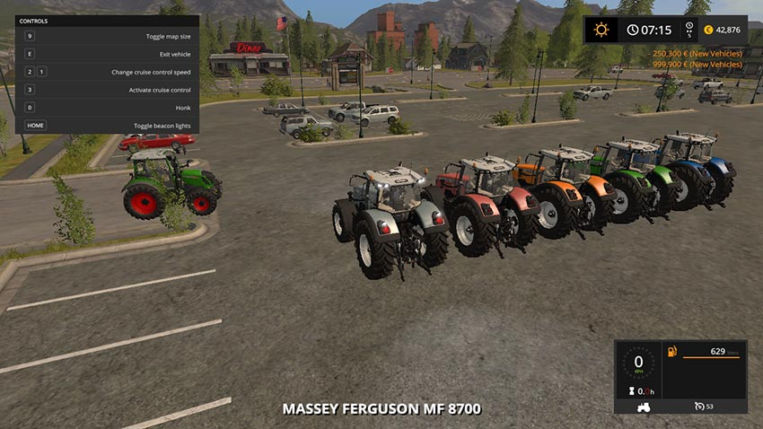 Massey Ferguson 8700 Collorable V 1.0