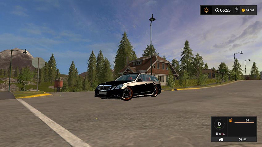 Mercedes E350 German-Look