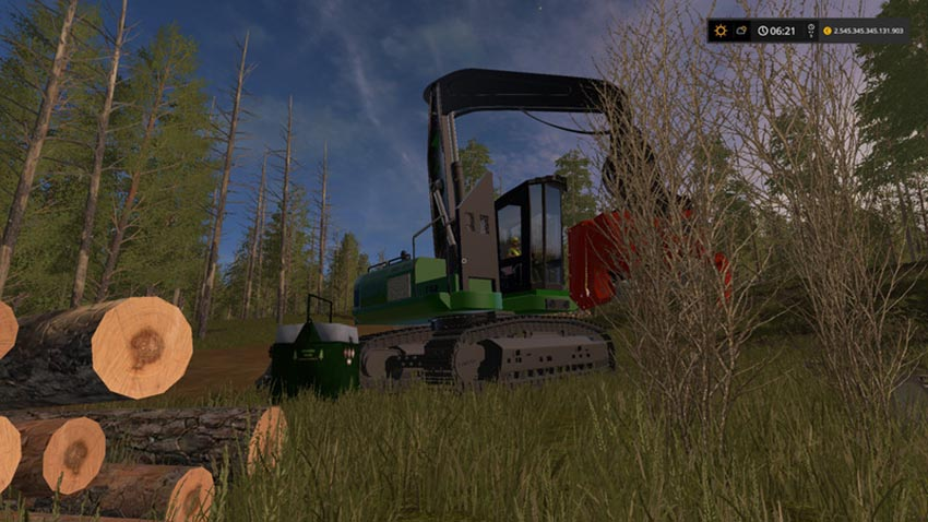 Mobile 800L diesel tank for the forest V 1.0