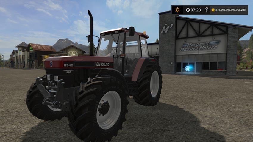 New Holland 8340 Red V 1.0